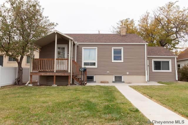 1420 W Pershing Blvd, Cheyenne, WY 82001 (MLS #83907) :: RE/MAX Capitol Properties