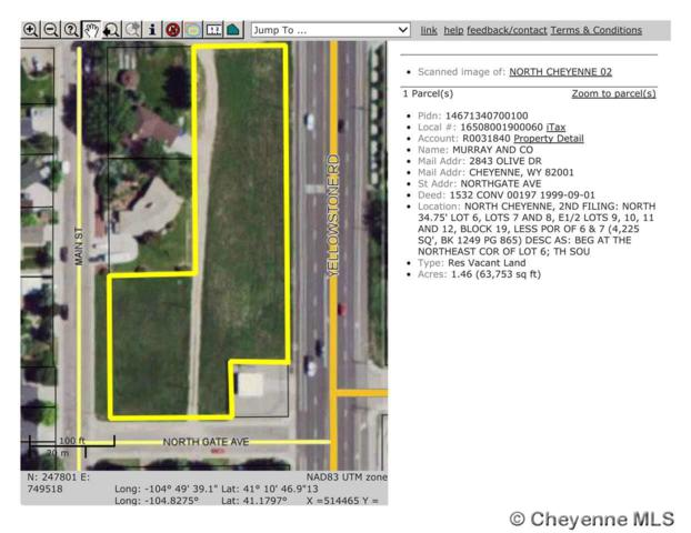 TBD Northgate Ave, Cheyenne, WY 82009 (MLS #66329) :: RE/MAX Capitol Properties