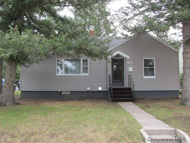 3423 Cribbon Ave, Cheyenne, WY 82001 (MLS #67961) :: RE/MAX Capitol Properties