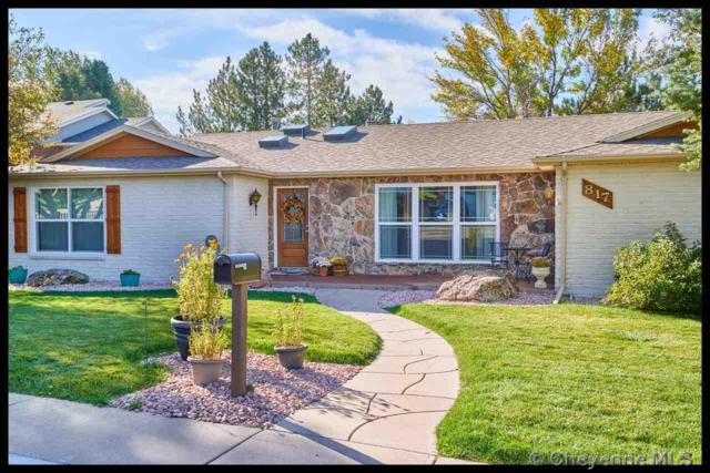817 Silver Sage Ave, Cheyenne, WY 82009 (MLS #72904) :: RE/MAX Capitol Properties