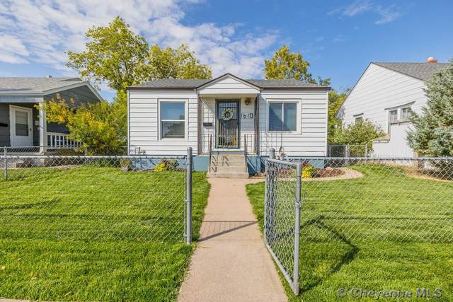 1610 E 20TH ST, Cheyenne, WY 82001 (MLS #83813) :: RE/MAX Capitol Properties