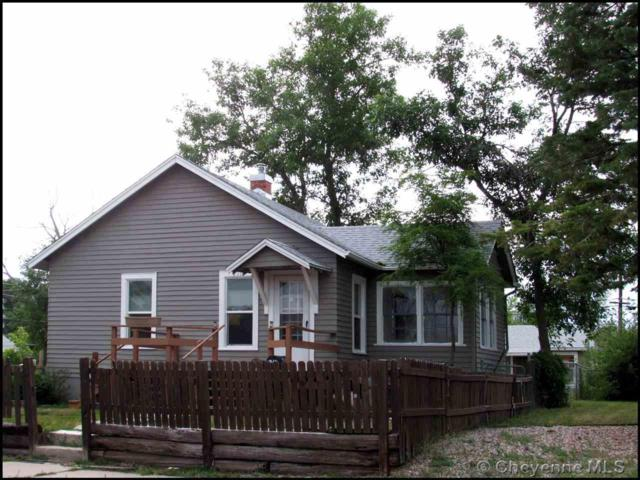 2310 E 10TH ST, Cheyenne, WY 82001 (MLS #74647) :: RE/MAX Capitol Properties