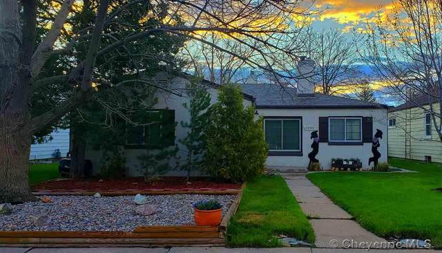 3809 Dey Ave, Cheyenne, WY 82001 (MLS #78587) :: RE/MAX Capitol Properties