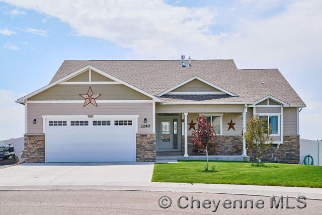 3240 Campfire Trail, Cheyenne, WY 82001 (MLS #68205) :: RE/MAX Capitol Properties