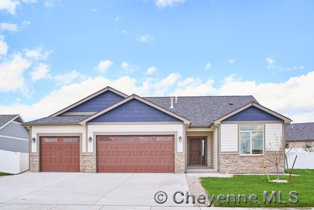 6607 Wilderness Trl, Cheyenne, WY 82001 (MLS #68996) :: RE/MAX Capitol Properties