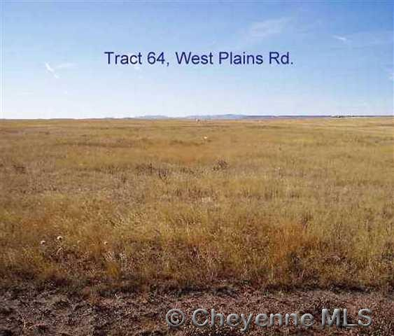 Tract 64 West Plains Rd, Cheyenne, WY 82009 (MLS #69857) :: RE/MAX Capitol Properties