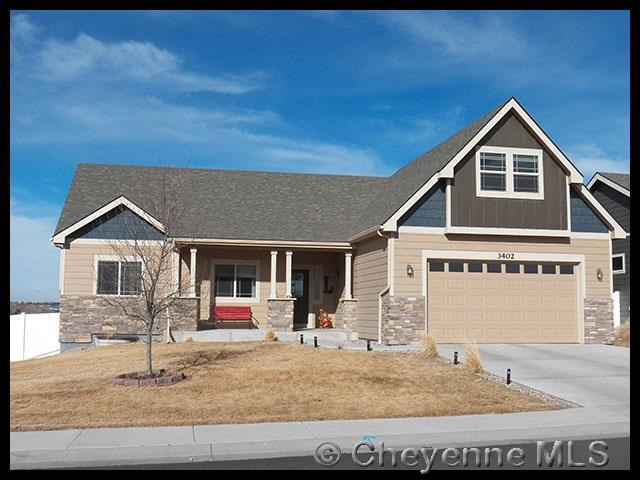 3402 Campfire Trail, Cheyenne, WY 82001 (MLS #70983) :: RE/MAX Capitol Properties