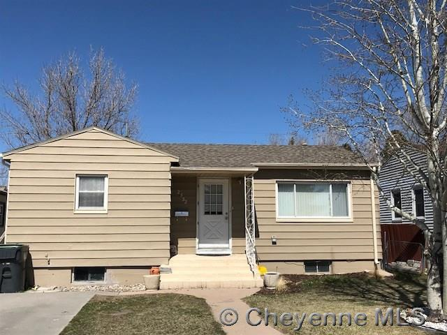 2532 E 8TH ST, Cheyenne, WY 82001 (MLS #71125) :: RE/MAX Capitol Properties