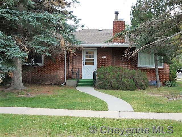 101 E 5TH AVE, Cheyenne, WY 82001 (MLS #72844) :: RE/MAX Capitol Properties