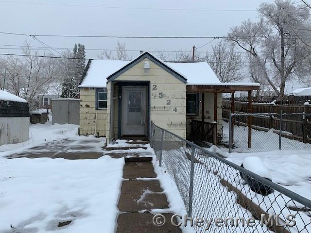 2524 E 11TH ST, Cheyenne, WY 82007 (MLS #74856) :: RE/MAX Capitol Properties