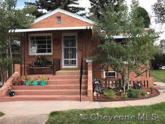 520 E 27TH ST, Cheyenne, WY 82001 (MLS #76110) :: RE/MAX Capitol Properties