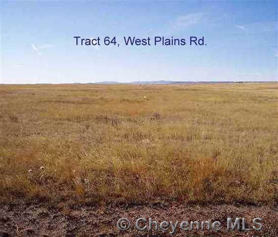 Tract 64 West Plains Rd, Cheyenne, WY 82009 (MLS #76180) :: RE/MAX Capitol Properties