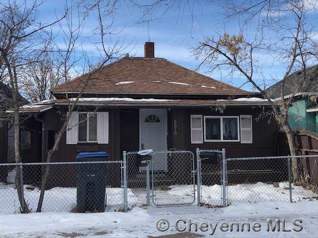 2616 Bent Ave, Cheyenne, WY 82001 (MLS #77075) :: RE/MAX Capitol Properties