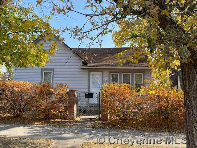 2521 Bent Ave, Cheyenne, WY 82001 (MLS #80334) :: RE/MAX Capitol Properties