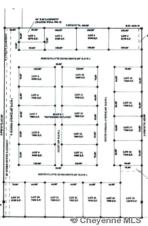 Lot 11 Riverside Estates, Guernsey, WY 82214 (MLS #82161) :: RE/MAX Capitol Properties