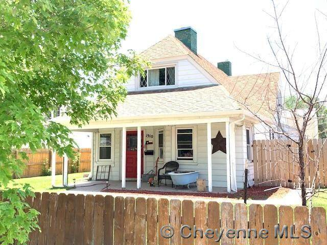 1910 Seymour Ave, Cheyenne, WY 82001 (MLS #82625) :: RE/MAX Capitol Properties