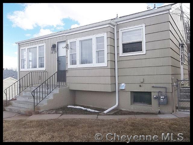 1839 E Pershing Blvd, Cheyenne, WY 82001 (MLS #71008) :: RE/MAX Capitol Properties