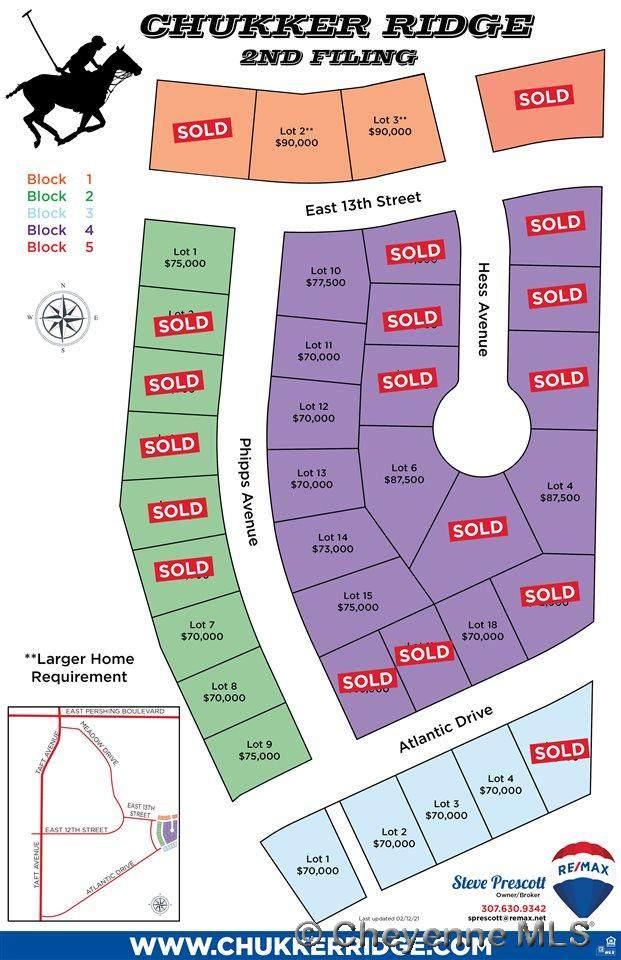 Lot 2 E Atlantic Dr, Cheyenne, WY 82001 (MLS #77536) :: RE/MAX Capitol Properties
