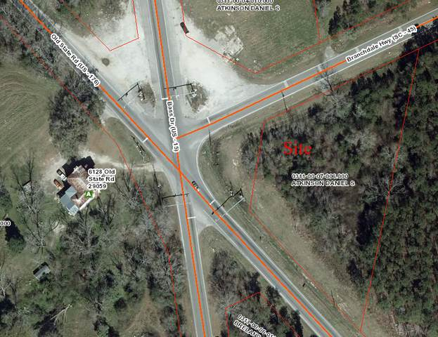 0 Old State Rd (Us-15 & Sc-45), Holly Hill, SC 29059 (#30731016) :: The Cassina Group