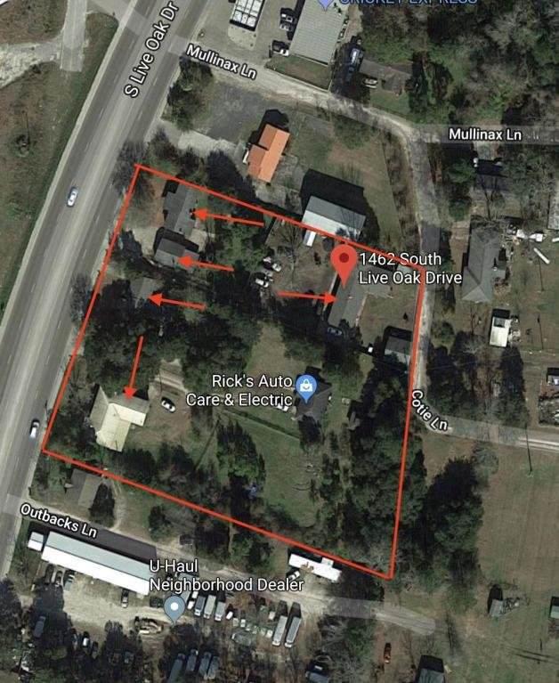 1462 S Live Oak Drive, Moncks Corner, SC 29461 (#30579812) :: The Cassina Group