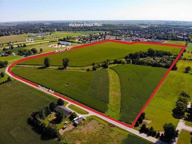 61 Acres Arbor Drive/Taylor Road, Decatur, IL 62526 (MLS #6198818) :: Main Place Real Estate