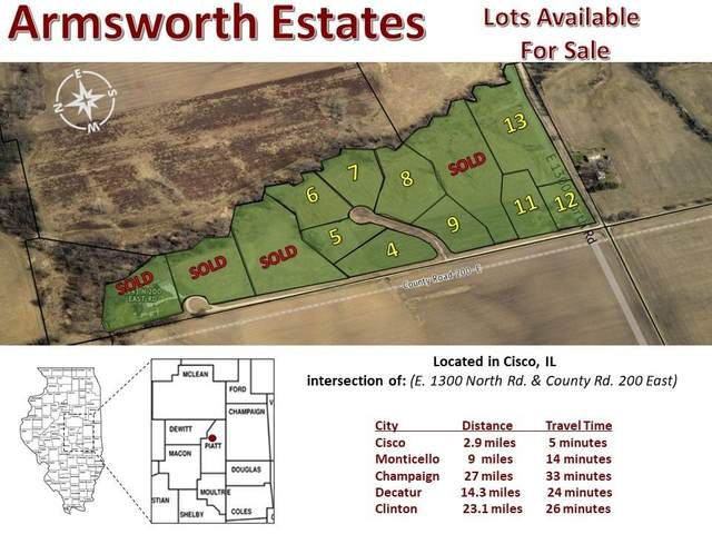 Lot 8 Armsworth Estates, Monticello, IL 61856 (MLS #6197256) :: Main Place Real Estate