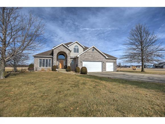 5863 Lakelaine Dr, Macon, IL 62544 (MLS #6190381) :: Main Place Real Estate