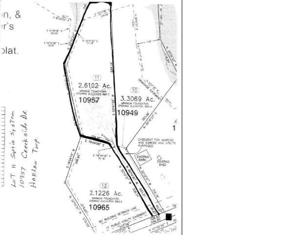 10957 Creekside Drive Lot11, Harlan Twp, OH 45162 (#1606275) :: The Chabris Group