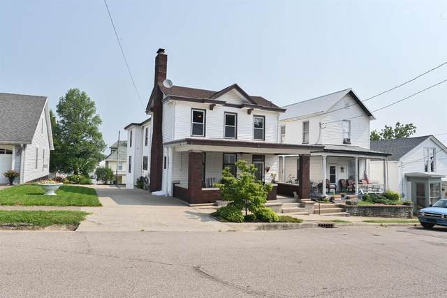 114 Fifth Street, Aurora, IN 47001 (#1674764) :: The Chabris Group