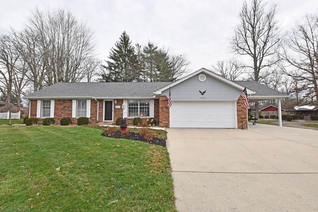 412 Pleasant Drive, North Vernon, IN 47265 (#1684601) :: The Chabris Group