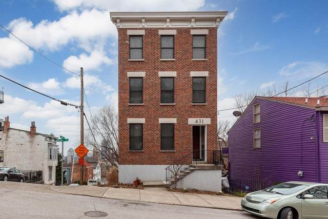 431 Milton Street, Cincinnati, OH 45202 (MLS #1687713) :: Apex Group