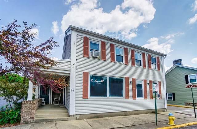 34 E Franklin Street, Bellbrook, OH 45305 (#1709886) :: Century 21 Thacker & Associates, Inc.