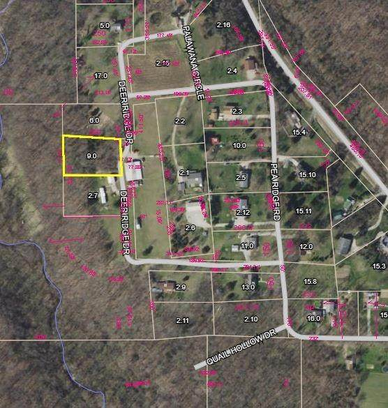 0 Pea Ridge Road, Brookville, IN 47012 (#1674918) :: The Chabris Group