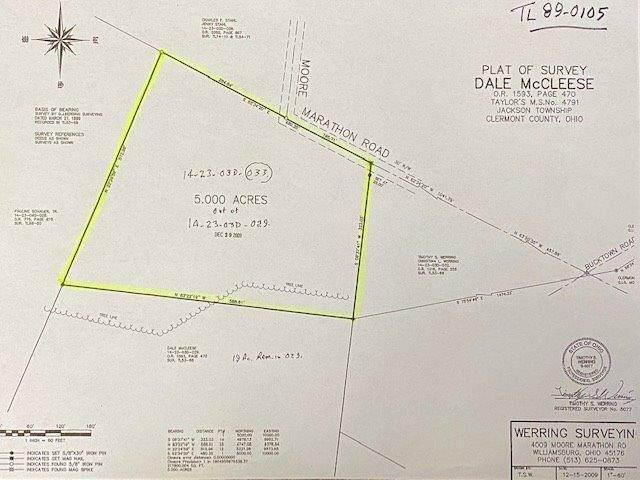 4039 Moore Marathon Road, Jackson Twp, OH 45176 (MLS #1684373) :: Bella Realty Group