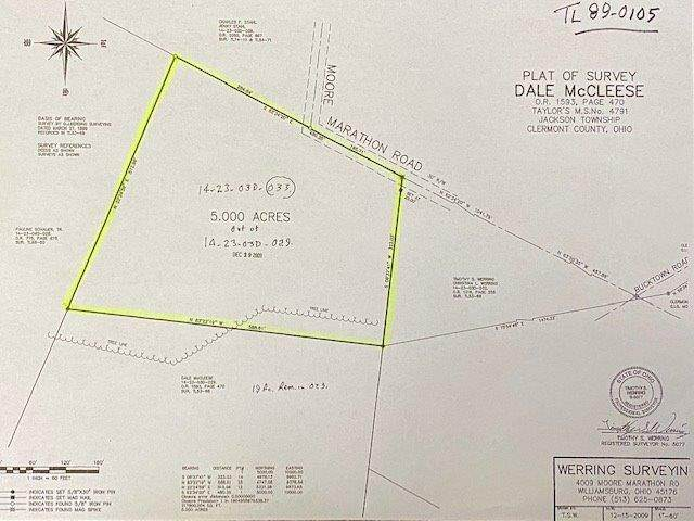 4039 Moore Marathon Road, Jackson Twp, OH 45176 (#1684373) :: The Chabris Group
