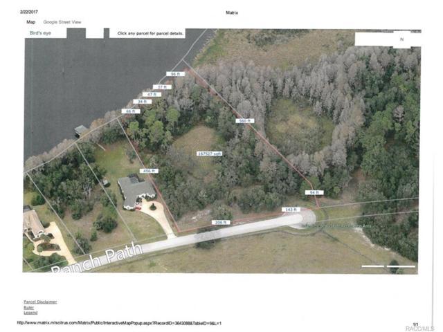 11020 N River Ranch Path, Crystal River, FL 34428 (MLS #756340) :: Plantation Realty Inc.