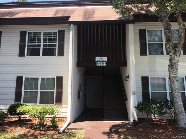 2400 Forest Drive #203, Inverness, FL 34453 (MLS #757878) :: Plantation Realty Inc.