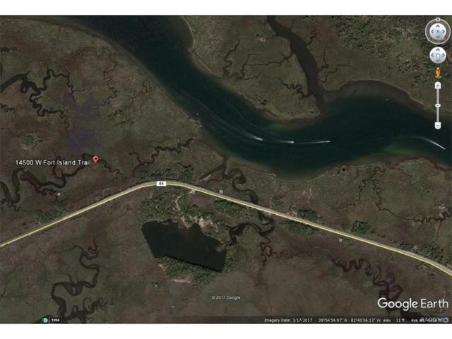 14500 W Fort Island Trail, Crystal River, FL 34429 (MLS #760685) :: Plantation Realty Inc.