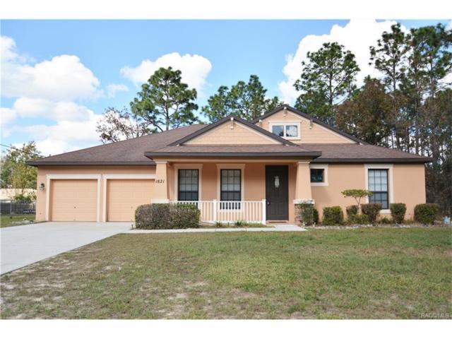 1821 W Citrus Springs Boulevard, Citrus Springs, FL 34434 (MLS #766620) :: Plantation Realty Inc.
