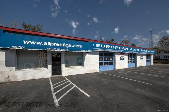 309 NW Us 19 Highway, Crystal River, FL 34428 (MLS #768624) :: Pristine Properties