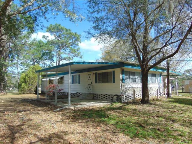 9161 S Evans Avenue, Inverness, FL 34452 (MLS #770365) :: Plantation Realty Inc.