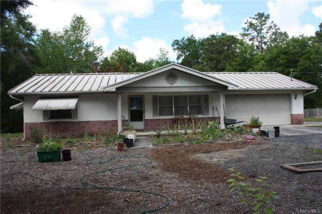 8832 S Berkshire Avenue, Inverness, FL 34452 (MLS #771628) :: Plantation Realty Inc.