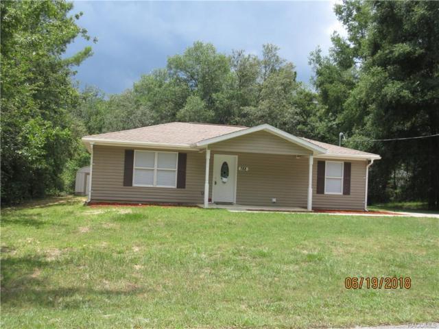 788 N Charles Avenue, Inverness, FL 34453 (MLS #774560) :: Plantation Realty Inc.