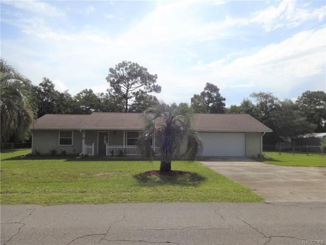 4705 S Bluebird Terrace, Lecanto, FL 34461 (MLS #775727) :: Plantation Realty Inc.