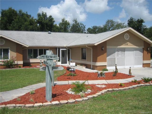 1138 N Commerce Terrace, Lecanto, FL 34461 (MLS #775821) :: Plantation Realty Inc.
