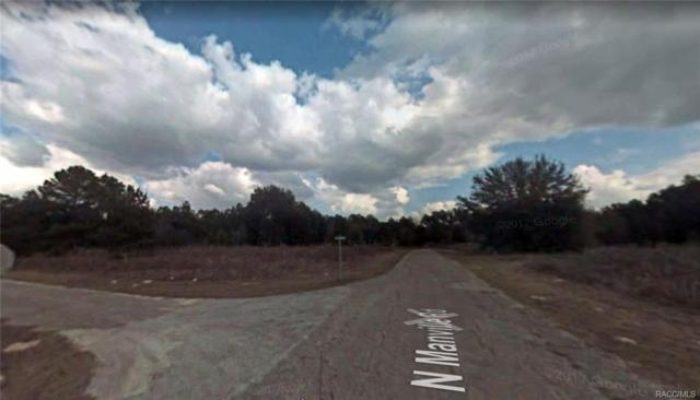 8143 N Garland Way, Citrus Springs, FL 34434 (MLS #775995) :: Plantation Realty Inc.
