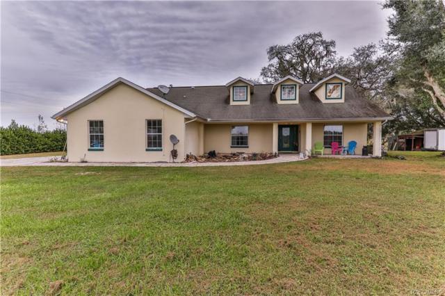 8780 E Derby Oaks Drive, Floral City, FL 34436 (MLS #777038) :: Pristine Properties