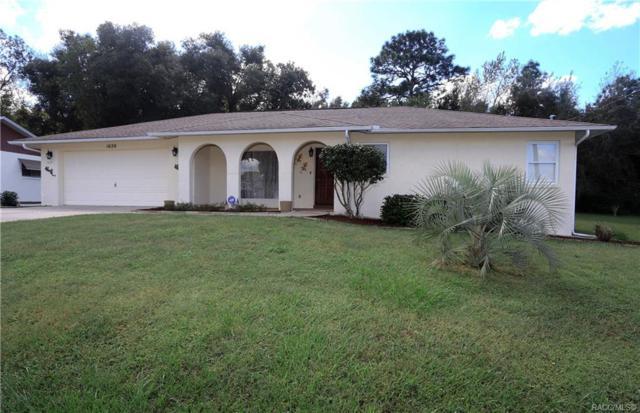 1020 W Buttonbush Drive, Beverly Hills, FL 34465 (MLS #777747) :: Plantation Realty Inc.