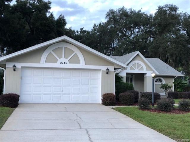 2745 N Canterbury Lake Drive, Hernando, FL 34442 (MLS #778405) :: Plantation Realty Inc.