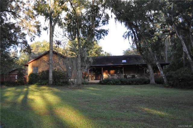 1707 N Crooked Branch Drive, Lecanto, FL 34461 (MLS #778487) :: Plantation Realty Inc.